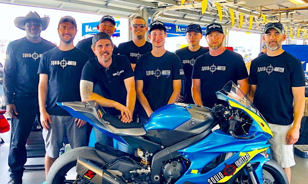 Squid Hunter Racing team prepares for Daytona 200